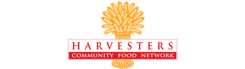 Harvesters - The Community Food Network Logo