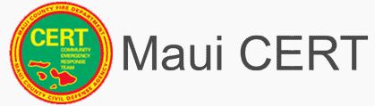 Maui County CERT Logo