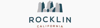 Rocklin Cares - City of Rocklin Logo